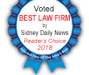 2018 Sidney Daily News Readers Choice Best Law Firm Elsass Wallace Evans